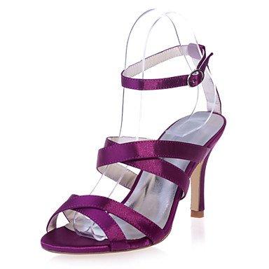 Talón Zapatos CN38 Zapatos Disponibles Noche Parte EU38 UK5 Más Boda De Colores 5 amp;Amp; Sandalias Stiletto US7 Toe Satin Open Mujer 5 SSxIwnq1B7