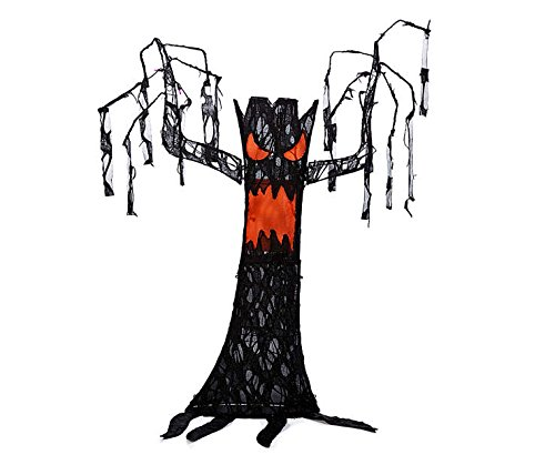 52 Inch Tall - Light up Halloween Spooky Tree