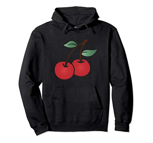 Casino Slot Machine Gambling Red Cherry Pullover Hoodie (Best Penny Slots To Win On)