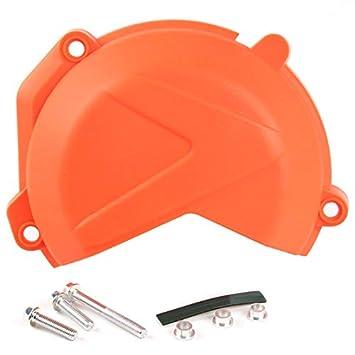 TOOGOO Cubierta del Protector del Embrague del Motor Tapa para KTM 250 300 Exc XC XC