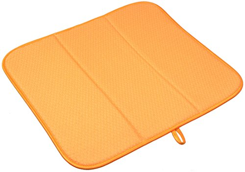Sinland Microfiber Dish Drying Mats Absorbent Kitchen Drying