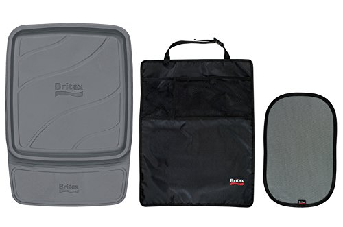 Britax Car Seat Accessory Pack, 3 - Seat Vehicle Protector Britax