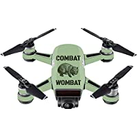 Skin For DJI Spark Mini – Combat Wombat | MightySkins Protective, Durable, and Unique Vinyl Decal wrap cover | Easy To Apply, Remove, and Change Styles | Made in the USA