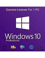 Windows 10 Professional 32-bit e 64-bit, chiave di licenza del prodotto originale, OEM, garanzia di attivazione al 100% [Consegna via e-mail e posta]