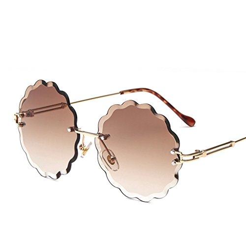 7 Marco Sol De Sol De Gafas Sin Gafas HAIHAI De Gafas Moda Sol De 5 Bx1n6I65q
