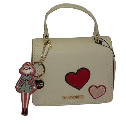 Popular Ofertas De Salida Borsa Love Moschino SHOULDER mini bag JC4089 pp14 calf pu ricamata avorio Sitio Oficial rcy60F0wY