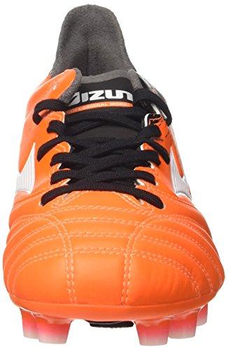 Mizuno Herren Morelia Neo II MD Fußballschuhe Mehrfarbig (Orangeclownfish/white/black)