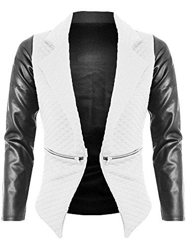 Janisramone - Veste de tailleur - Blazers - Manches Longues - Femme jaune crème 46