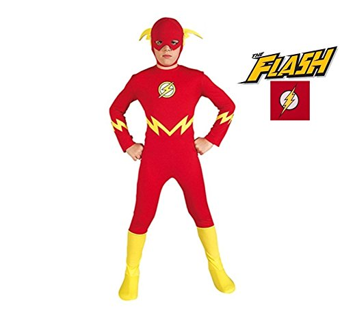 (Costumes For All Occasions Ru38839Md Flash Child 8 To)