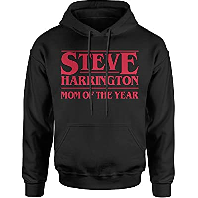 Expression Tees Steve Harrington Mom Of The Year MOTY Unisex Adult Hoodie