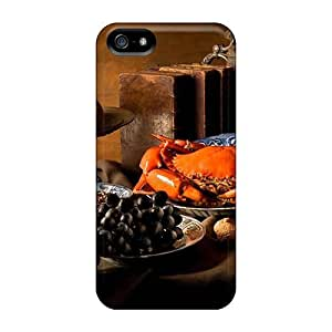Hot Snap-on Food Differring Meal Still Life Hard Protective For SamSung Galaxy S6 Phone Case Cover