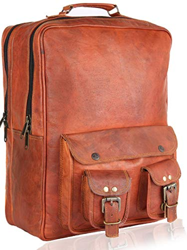 Marcucci Genuine Leather Handemade Backpack