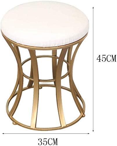 Stable Dressing Chaise Chambre D'or Tabouret Habiller Tabouret Moderne Petit Tabouret Minimaliste Dressing Durable