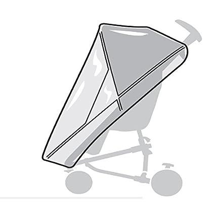 Zapp Flex und Zapp Xpress Quinny ger/äumiger Einkaufskorb grau geeignet f/ür Zapp Flex Plus