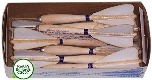 Box of 12 Darts (Darts Wooden Steel Tip)
