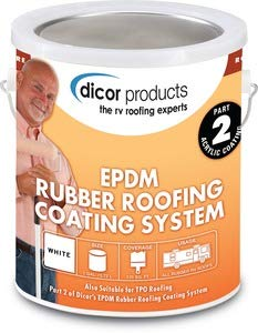 Dicor RPCRC1 RP-CRC-1 Rubber Roof Acrylic Coating Wht -