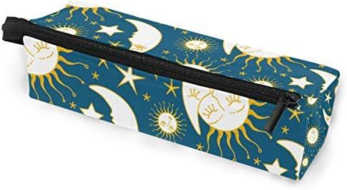 Lápiz Bolsa Bolso Estuche Estuche Cielo estrellado Sol y luna Historia de amor Maquillaje Cosmético Gafas de sol para niñas Niños Escuela de viaje: Amazon.es: Oficina y papelería