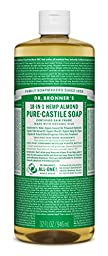 Dr. Bronner\'s Pure-Castile Liquid Soap - Almond 32oz.
