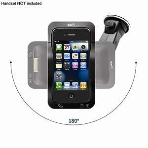 Bury Motion - Kit manos libres Bluetooth para el coche para iPhone 4 - Parabrisas/Soporte inteligente