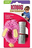 KONG Refillable Catnip Fuzzy Slipper Cat Toy