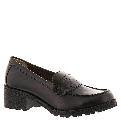 Eastland Women's Newbury Penny Loafer, Black, 6 M US