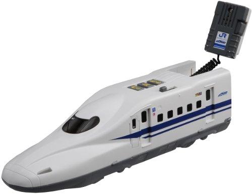BS-02 Let's play microphone! N700 Shinkansen Bullet Train (Tomica PlaRail Model Train) ()