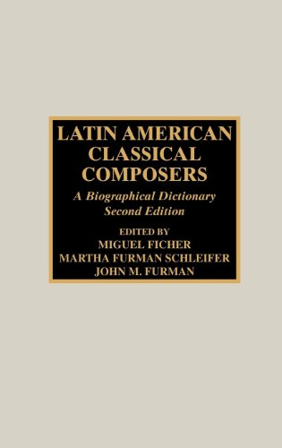 Latin American Classical Composers: A Biographical Dictionary