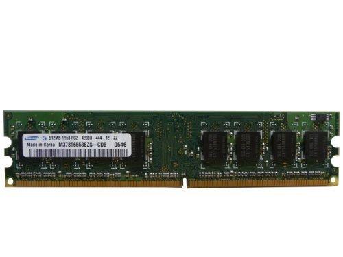 Samsung 512 Mb (Samsung 512MB DDR2 PC2-4200U 533MHz 1Rx8 M378T6553EZS-CD5)