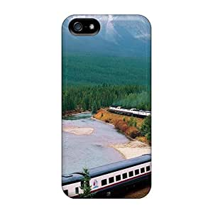 Premium [GOa10997zzKi]long Train Alon A River In The Outback Case For Iphone 5/5s- Eco-friendly Packaging