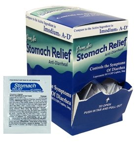 Générique, Comparer à l'ingrédient actif dans Imodium AD, de secours anti-diarrhéique, 36packets x 2 de