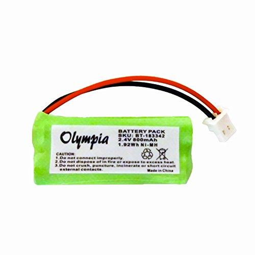 BT-183342 Battery for VTech DS6151, CS6429, CS6114, CS6419-2, CS6519-2, DS6521-2 and AT&T TL86109 Cordless Phones -  Olympia Battery, bt183342-581b