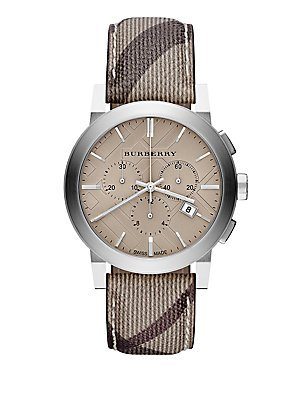 Burberry The City Smoked Trench Timepiece - Mens Burberry Trench