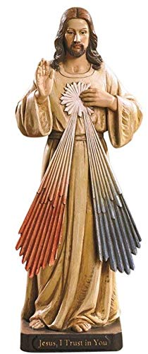 Woodington's Avalon Gallery Divine Mercy 8 Inch Statue