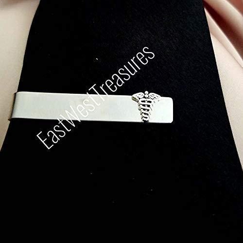 Doctors Necktie - Tie Clip Medical-All Steel Medical Doctor suit tie necktie accessory Gift for Men
