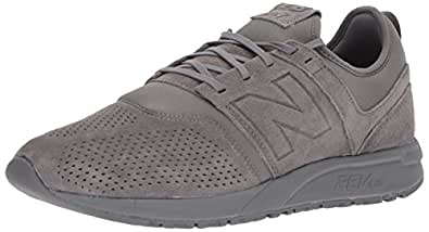 New Balance Men's 247v1 Sneaker, Grey, 7 D US