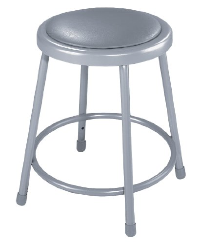 National Public Seating 6418 Steel Stool with 18