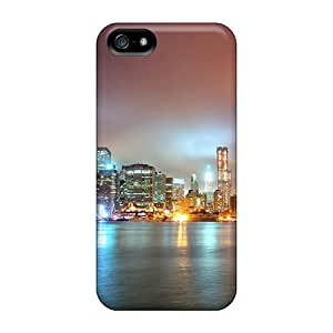 Top Quality Protection Magnificent View Of Downtown Manhattan Case Cover For Iphone 5/5s