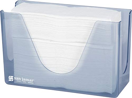 San Jamar T1720TBL Countertop Towel Dispenser, Arctic Blue