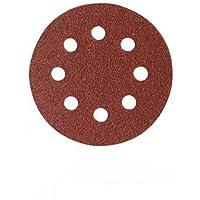 Silverline 763604 Discos de Lija Perforados Autoadherentes, 150