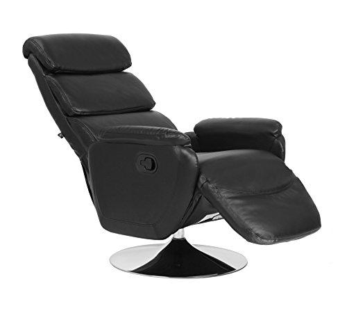 Rissanti Torino Zerostrain Recliner Chair, Black