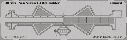 1:48 Eduard Photoetch Sea Vixen Faw.2 Ladder (airfix). for sale  Delivered anywhere in USA