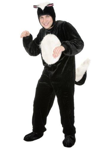 Skunk Adult Costume (Mens Skunk Costume)