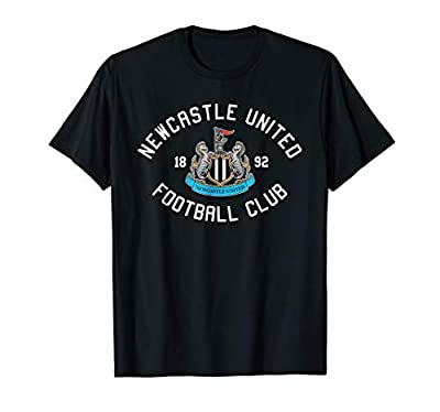 Newcastle United Football Club 1892 T-shirt Black