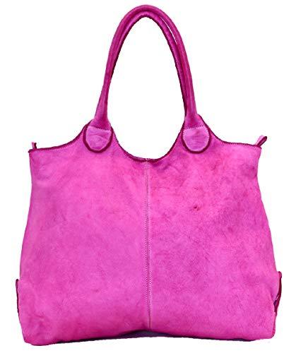 BZNA Bag Capri brun moro läderarmband Italy Designer dam handväska axelväska väska vad Leather Shopper ny