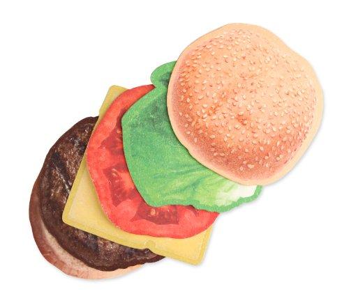 Kikkerland Burger Coasters, Set of - Coasters Kikkerland
