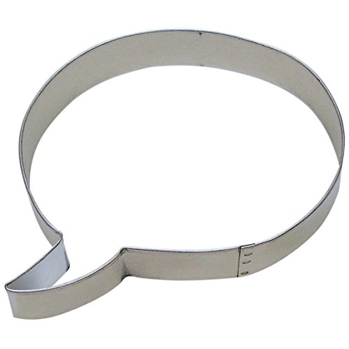 Conversation Bubble Cookie Cutter 4.25 in (Cookie Conversation Cutters)