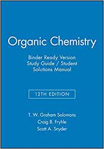 Study guide and solutions manual to accompany Fundamentals of organic chemistry