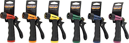 Dramm 10-12720 Touch 'N Flow Adjustable Spray Pistol, Assorted Colors - Quantity 12