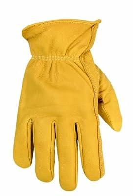 Custom Leathercraft 2060L Top Grain Goatskin Work Gloves, Large