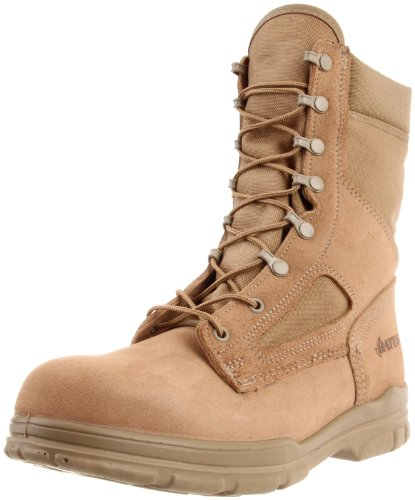 Bates Men's Lites Durashocks Steel Military Boot - stylishcombatboots.com